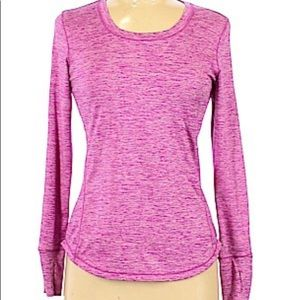 Lululemon long sleeve active shirt. Size 8